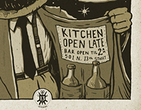 Prohibition Taproom poster