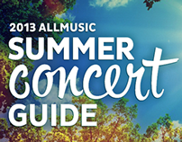 AllMusic - 2013 Summer Concert Guide