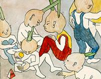 Chippolino. Illustrations / Иллюстрации к Чипполино