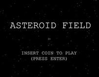 Asteroid Field | 2D Arcade Survivor