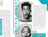Rizzle Kicks Magazine Spreads