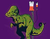 Dinosaurio con Varicela - UNBUENDÍA
