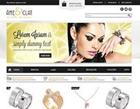 Layout e-commerce