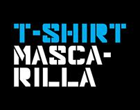 T-SHIRT MASCARILLA