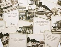 Vintage Carlsbad Coasters