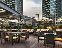 The Upper Deck, Kerry Hotel, Pudong, Shanghai