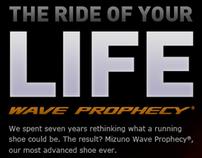 Mizuno Prophecy Launch