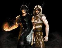 Initia: Elemental Arena props & models