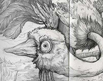 Selected Sketchbook Pages 2014