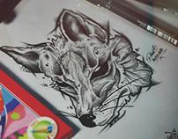 FOX DRAW STUDY