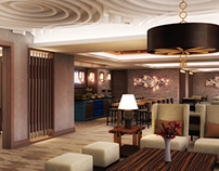 Hilton Double Tree (Executive Lounge) Jiaxing, China