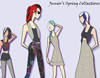 Juniors spring collection