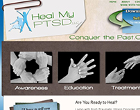 Heal My PTSD - Wordpress blog - 2008