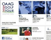 OAAG Golf Tour 2008 Website