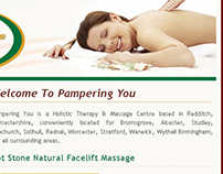 Pampering you - Wordpress blog - 2008