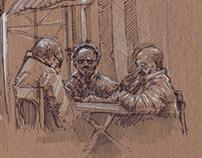 coffeshop sketches ^^