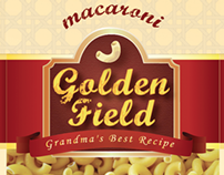 Golden Field ( Macaroni Product Rebranding)