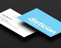 Carlyn Bozman Dietician Business Card