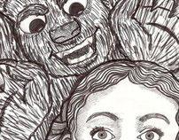 Misc. Children's B&W Illustrations