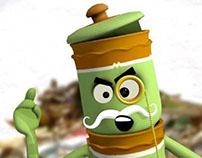 Kambha's Fundas - Segregate and Compost   Animated PSAs
