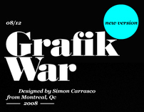 Grafik War (dot) com / new version