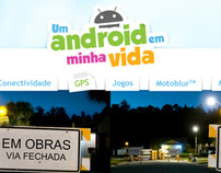 Motorola Android Hotsite