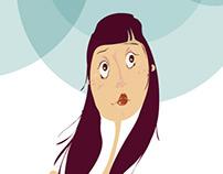 Personaje para la web de Yolanda Saenz de Tejada