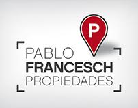 Inmobiliaria Pablo Francesch - diseño web