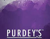 Branding- repackage Purdey's