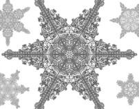 Baroque Snowflakes