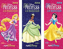 2014 Disney Princess Half Marathon Expo Banners