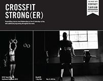 Crossfit Strong(er) Poster
