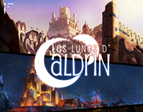 Les lunes d'Aldrin - Background concept