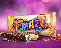 Logo design Extazy Ice Cream