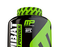 Muscle Pharm Product Renders
