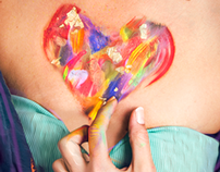 The colorful heart