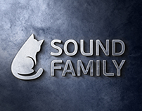 Sound Family / Logo restyling