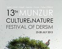 13th Munzur Culture & Nature Festival of Dersim - 2013