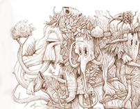 """""""Un día vi 10.000 elefantes""""."""
