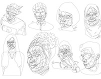 Lines of faces