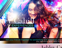 Ashley Cahill Experiences Flyer Design