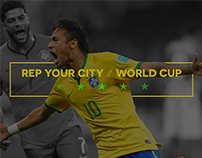 Rep Your City / World Cup 2014