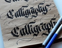 Calligraphy Masters contest