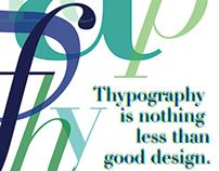 Didot Typographic Poster