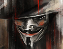 'A Man in a Mask'
