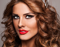 Andjelka Tomasevic Miss Serbia for Miss Universe