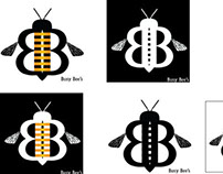 Busy Bee's logo design