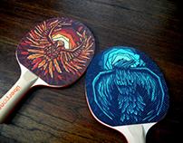 Uberpong  ///  Thunderbirds Paddles