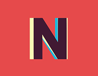 ► Novecento Animated Typeface