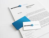 Aeronewstv - Graphic design, branding
